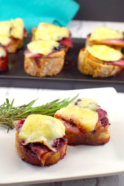 Turkey Brie Bites | Appetizer