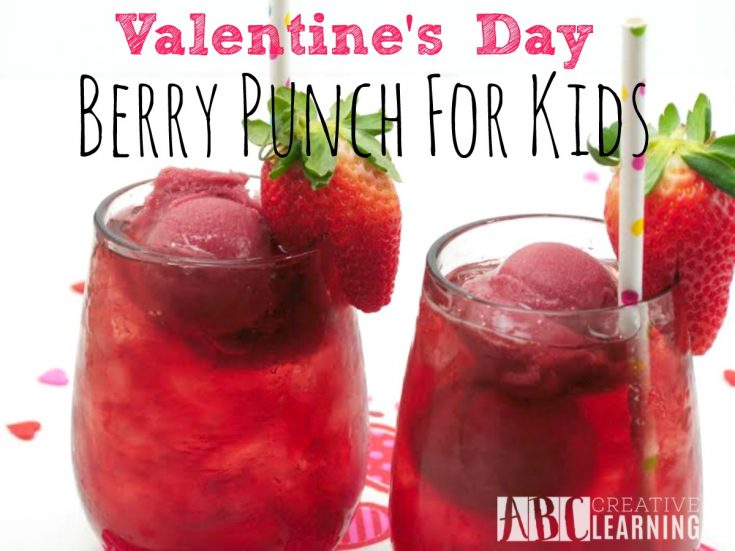 Valentine's Day Berry Punch For Kids