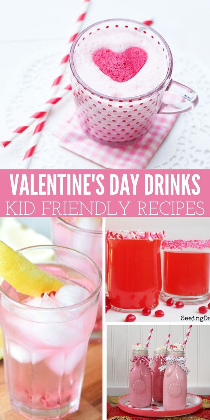Valentine's Day Mocktails