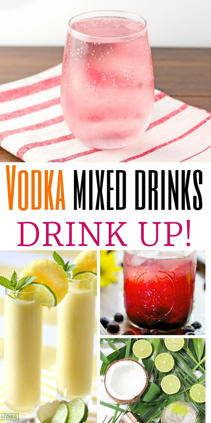 Good Vodka Cocktails| Vodka Flavors| Vodka Cocktails| The Best Vodka Cocktails| Vodka Concoctions| #cocktails #vodka #recipe