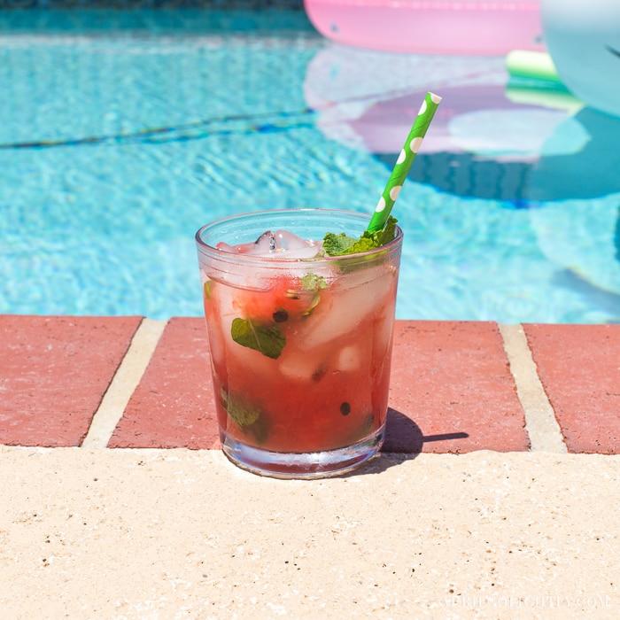 Summer Cocktail – Watermelon Cooler
