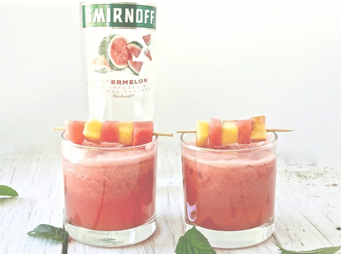 Very Good Vodka Cocktails :Watermelon Peach Cocktails