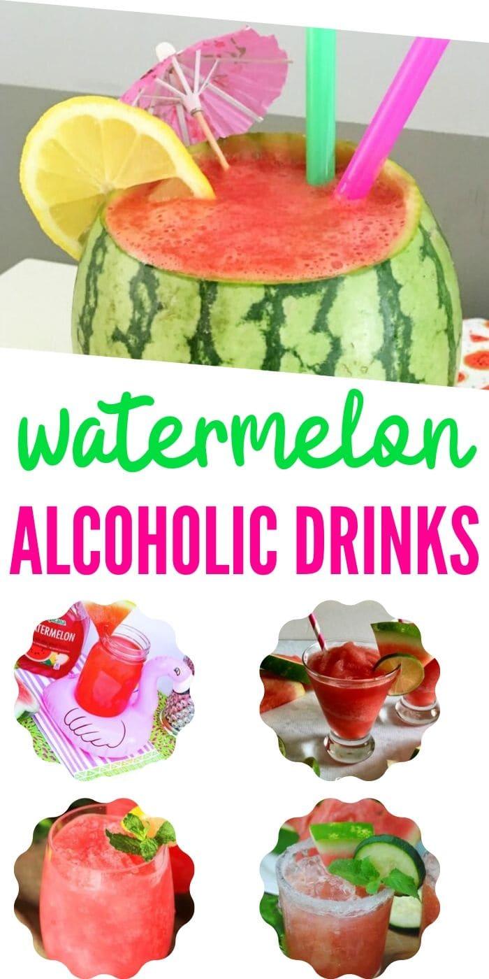 watermelon alcoholic drinks recipes