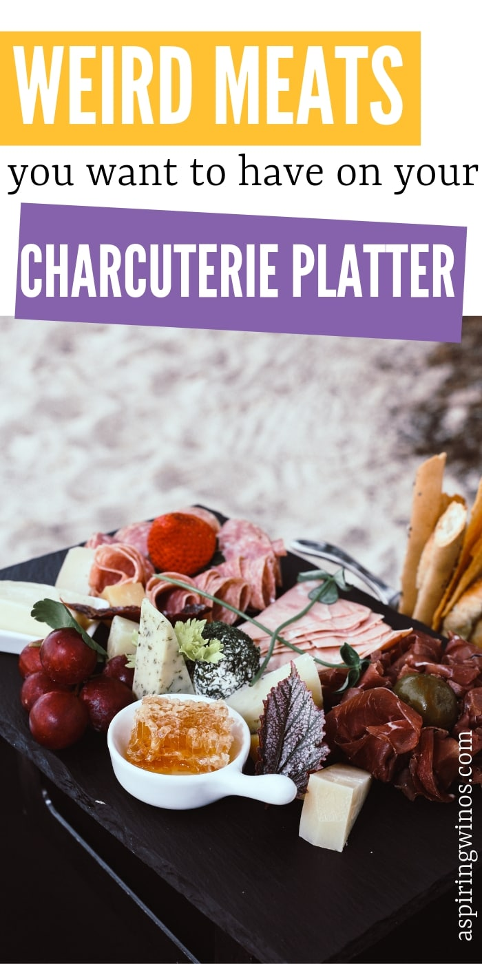 "Do you love pate and terrine? Have you ever heard of head cheese? Here is a guide to ""weird meats"" that you definitely want to sample on the next #charcuterie tray you make. This is a guide to help you host the perfect #winetasting or #dinnerparty with #appetizers that everyone will talk about because they are so delicious. #hostess"