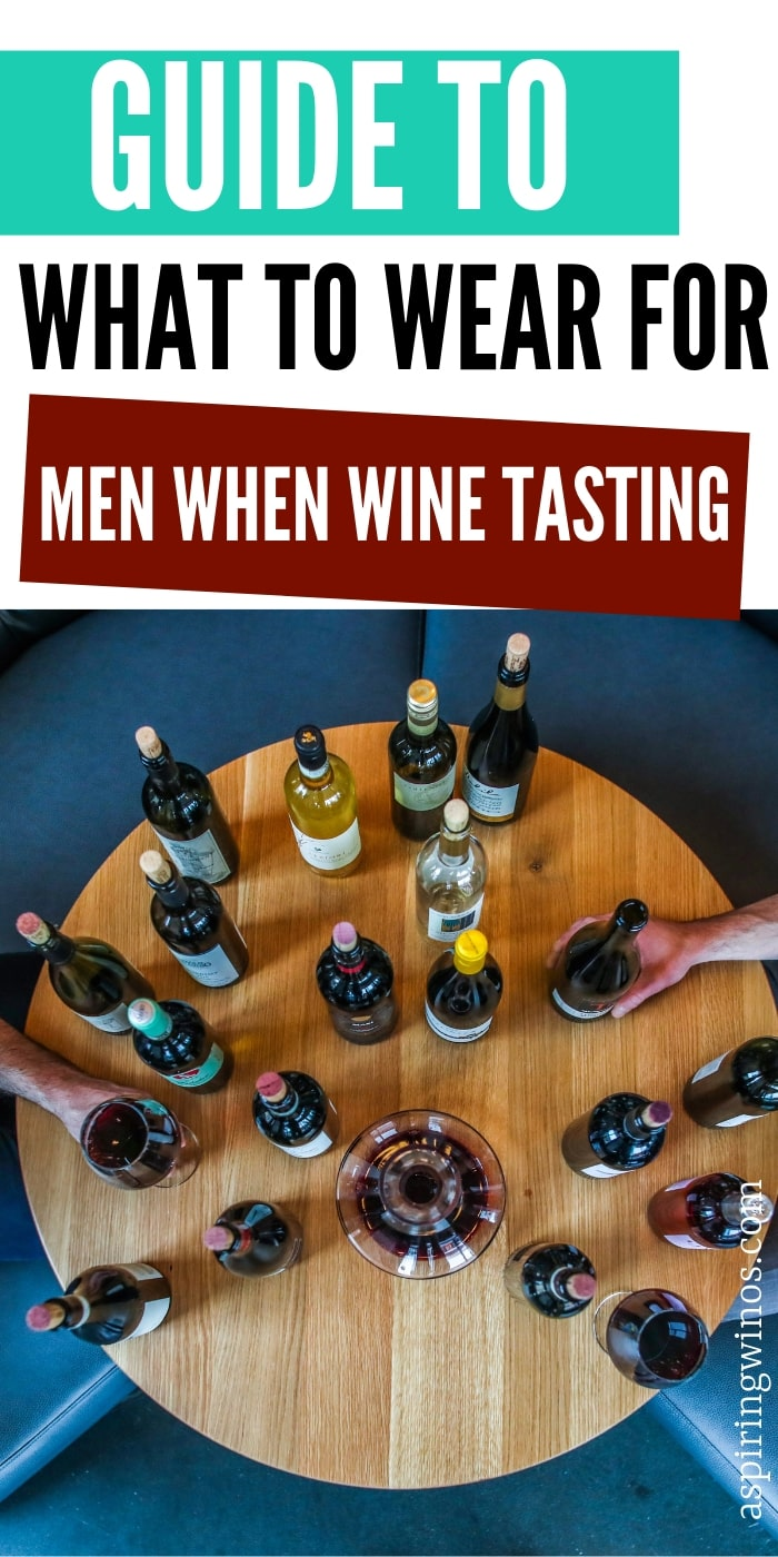 What to Wear Wine Tasting as a Guy