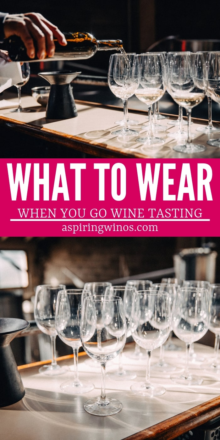 Wonder what to wear wine tasting? Here are our classy #fashion tips so you can have the best #ootd when you sip on some #wine. Dress up for your weekend in #winecountry, your trip to France or just a lovely day out with your partner or the girls. #winetravel #winetasting #winelife