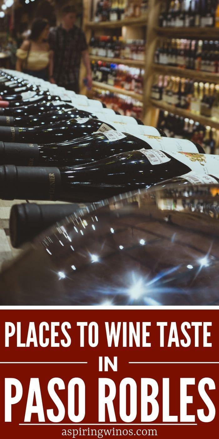 wine tasting in paso robles