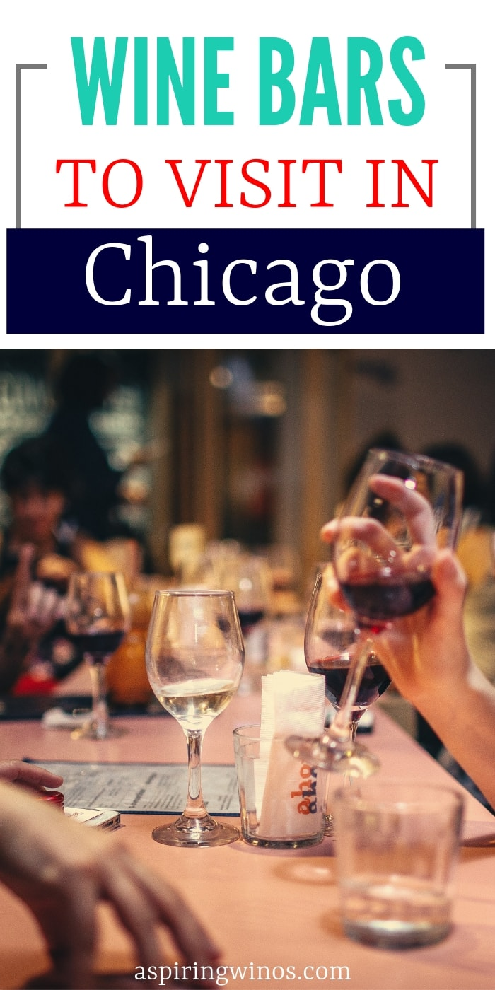 Fun wine bars to visit in Chicago   The best places to drink wine in Chicago, perfect for a girls night out, date night, fun night with friends or place to take clients. Enjoy the bar scene in Chicago with these delicious wines, including a dedicated #champagne bar!   #winetasting #wine #chicago #illinois #travel #bar