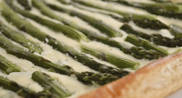 Asparagus Tart with Ricotta and Lemon
