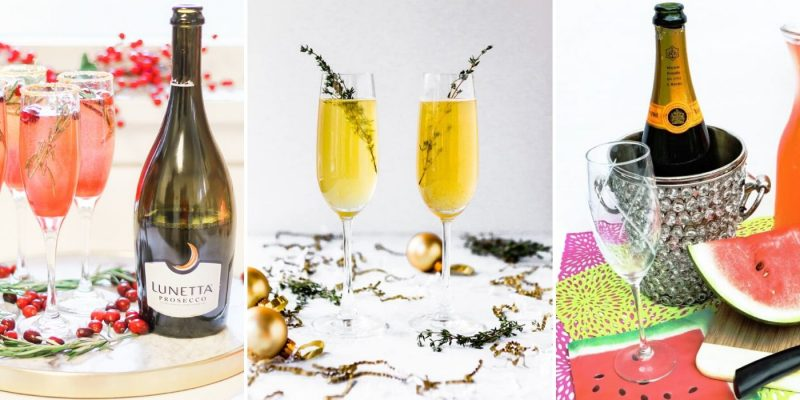 Champagne Cocktails to Enjoy Every Season   Champagne Mimosas   Best Champagne Cocktails   Bubbly Alcoholic Drinks   Classy Cocktails #bubbly #champagne #cocktails #mimosa