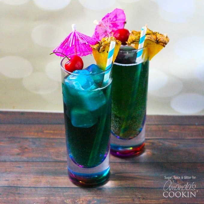 Blue Mermaid Cocktail