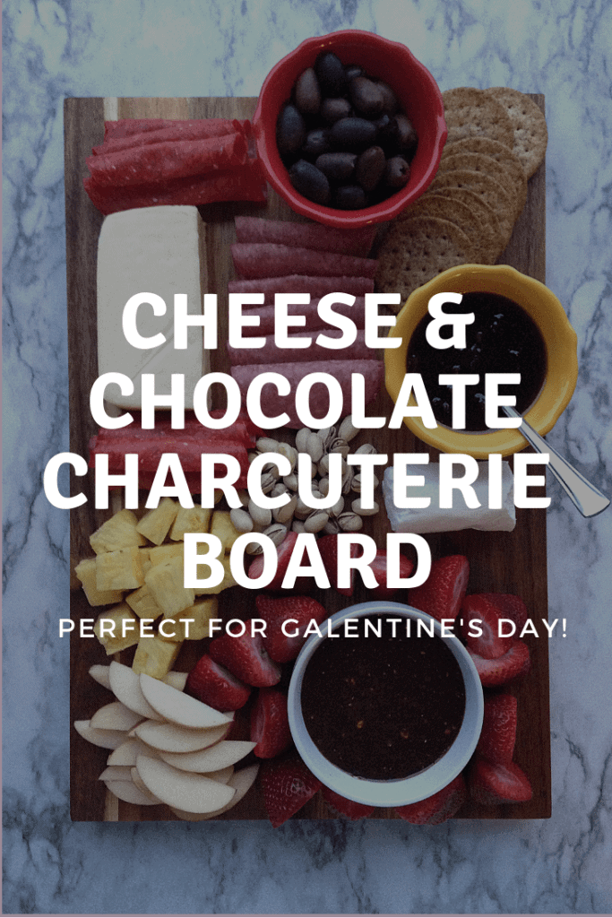 Chocolate and Cheese Charcuterie Board