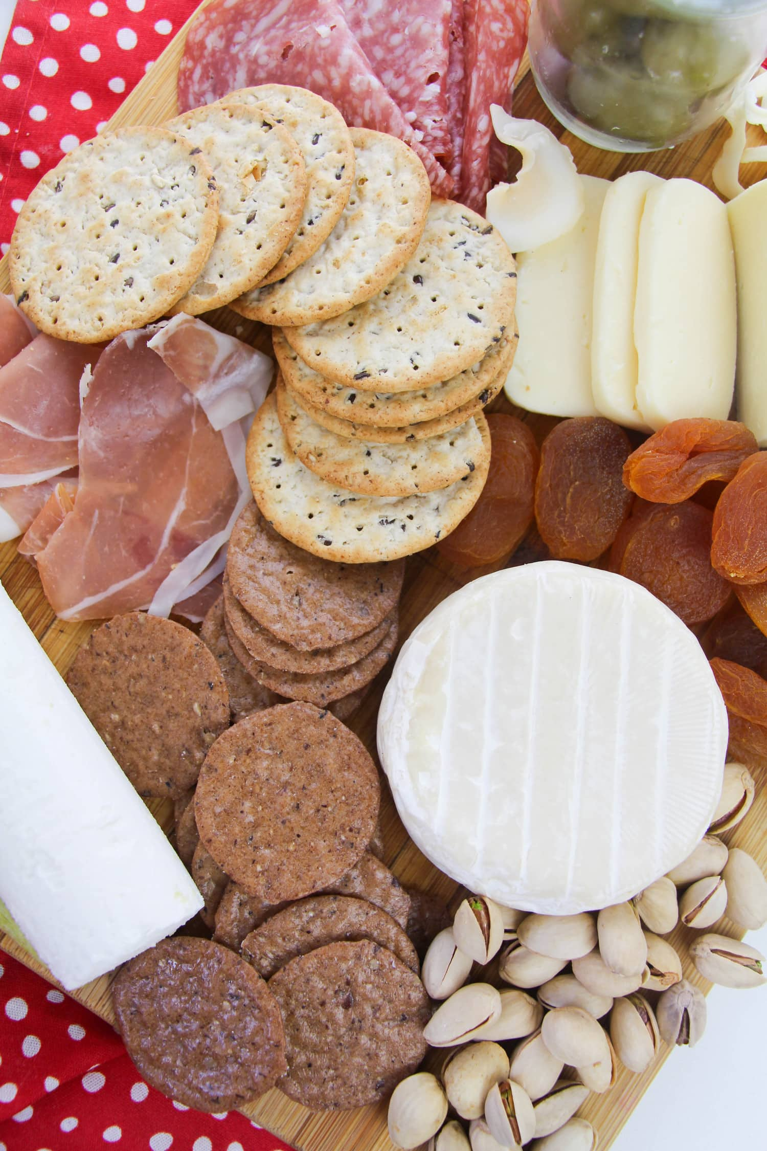 Meats, Cheeses, Crackers