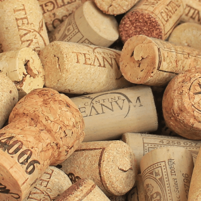Wine corks from AZ wine tasting