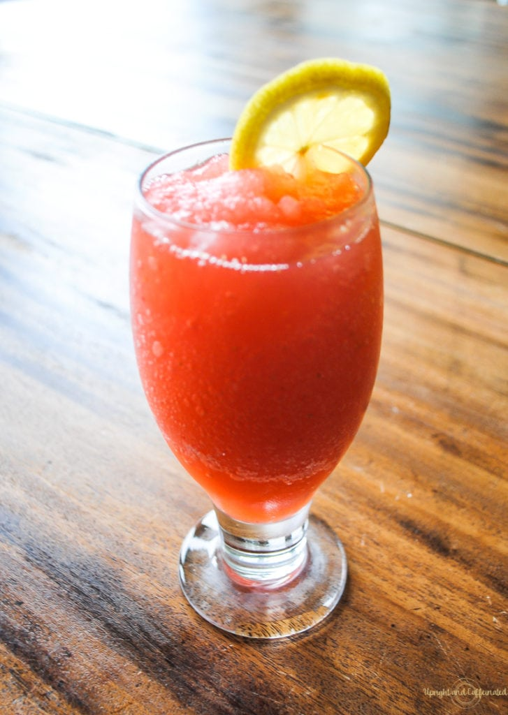 Frozen Citrus Berry Rum Punch