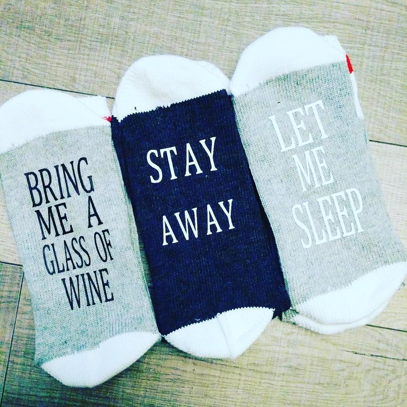 Wine making socks