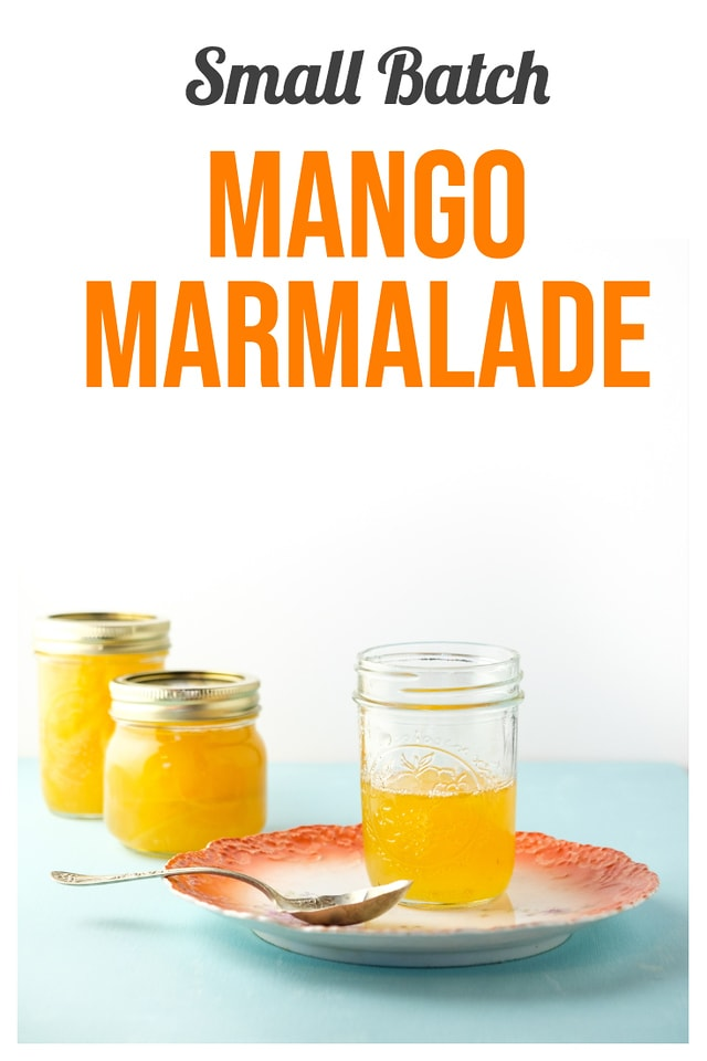 Small Batch Mango Marmalade - Delicious Jelly Recipes For Your Cheese Board