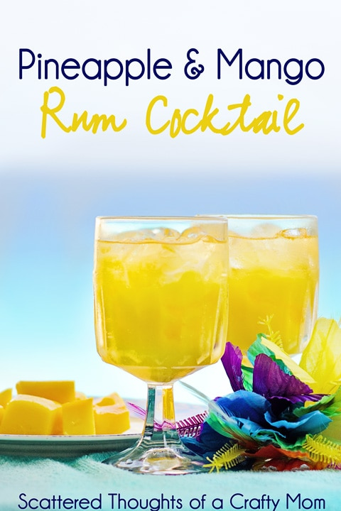 Pineapple Rum Cocktails
