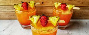 Refreshing Pineapple Rum Cocktail g