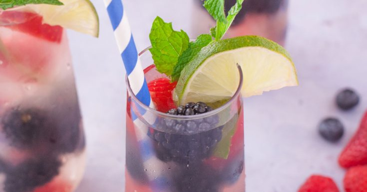 Refreshing Summer Sangria Berry Punch Recipe