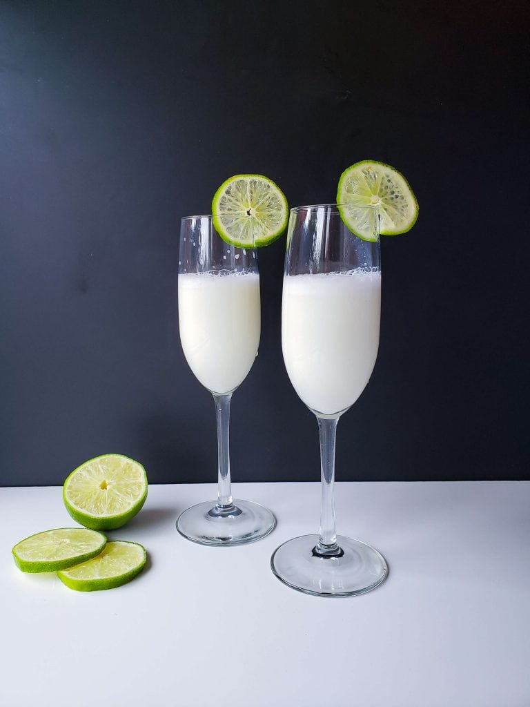 Creamy Margarita Cocktail Recipe - a garnish will always put the final touch on a drink and make it amazing