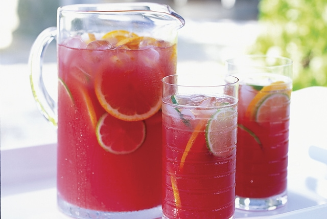 Virgin #Mocktails and Non-Alcoholic Cocktails | Delicious sangria punch without wine