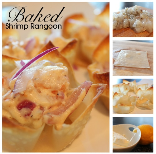 Baked Shrimp Rangoon