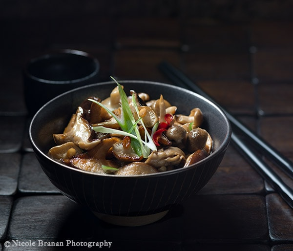 Mushroom Dishes to Pair with Pinot Noir - sweet and sour mushrooms