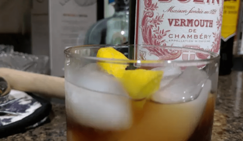 Vermouth on the Rocks