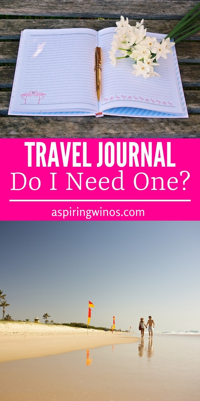Do I need a travel journal before my next trip? Will it make my vacation better? How to start a travel journal today! This is why you should create a travel journal and how you can start a travel journal without feeling overwhelmed. Capture all of your memories in one small book, to spark joy in the future. #traveling #traveljournal #journaltips