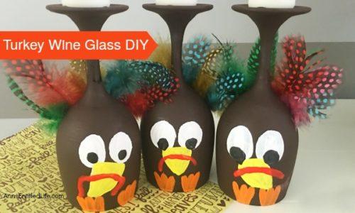 Turkey Wine Glass DIY