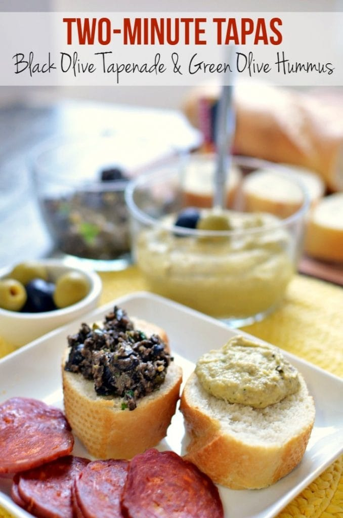 Two-Minute Olive Tapas Recipes