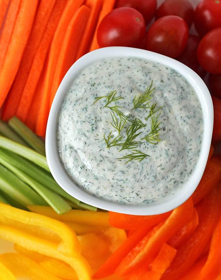 Vegan Veggie Dip