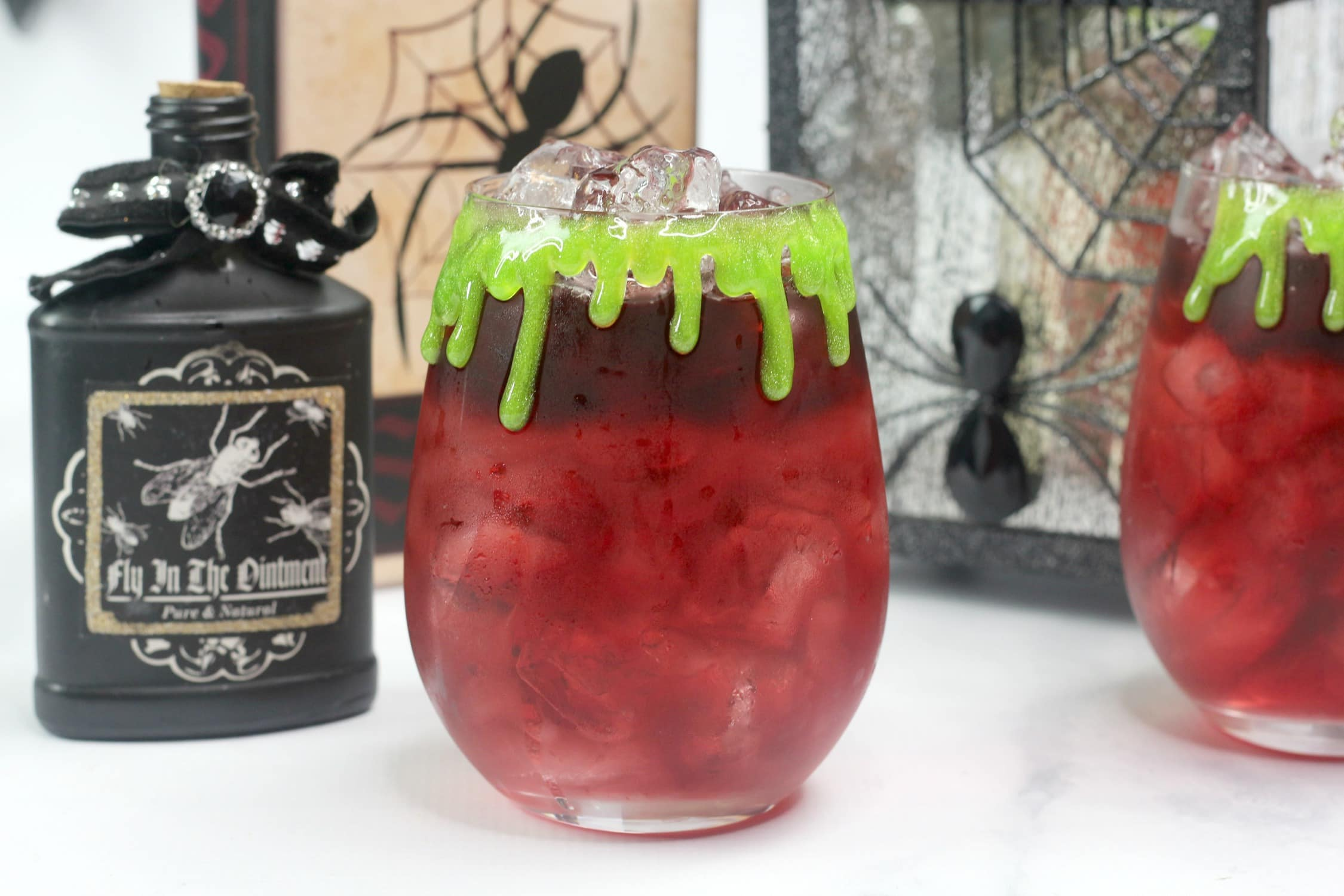 Blood Orange and Pomegranate: Witch's Blood Cocktail